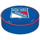 Holland Bar Stool BSCNYRang 14 1/2 inch New York Rangers Vinyl Bar Stool Seat Cover