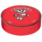 Holland Bar Stool BSCWI-Bdg 14 1/2 inch University of Wisconsin Vinyl Bar Stool Seat Cover