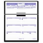 At-A-Glance SW705X50 Flip-A-Week 5 5/8 inch x 7 inch White 2021 Desk Calendar Refill