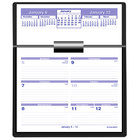 At-A-Glance SW70650 Flip-A-Week 5 5/8 inch x 7 inch White 2020 Desk Calendar Refill with QuickNotes