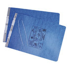 Acco 54272 11 inch x 14 7/8 inch Top Bound Hanging Data Post Binder - 6 inch Capacity with 2 Fasteners, Light Blue