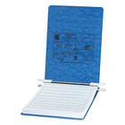 Acco 54052 8 1/2 inch x 11 3/4 inch Top Bound Hanging Data Post Binder - 6 inch Capacity with 2 Fasteners, Light Blue