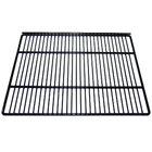 True 909110 Black Coated Wire Top Shelf - 19 11/16 inch x 17 inch