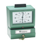 Acroprint 011070411 Model 125 Analog Manual Print Time Clock with Month, Date, 0-12 Hours, and Minutes