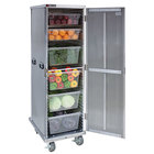 Cres Cor 109-1840 Aluminum 40 Pan End Load Enclosed Insulated Bun / Sheet Pan Rack - Assembled