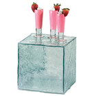 Cal-Mil 432-8-43 8 inch Glacier Acrylic Faux Glass Cube Riser