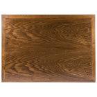 BFM Seating VN3048AA 30 inch x 48 inch Autumn Ash Veneer Wood Indoor Table Top