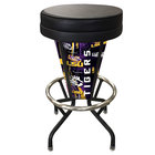 Holland Bar Stool L500030LaStUnBlkVinyl Louisiana State University Indoor / Outdoor LED Bar Stool