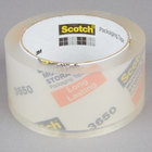 3M 3650 Scotch® 1 7/8 inch x 54.6 Yards Clear Long-Lasting Moving and Storage Packaging Tape