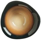 World Tableware PEB-10-T Pebblebrook 17.375 oz. Tiger Organic Ribbed Porcelain Bowl - 12/Case