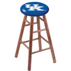 Holland Bar Stool RC30MSMedUKY-UK University of Kentucky Wood Bar Stool with Medium Finish
