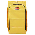 Rubbermaid 1966881 34 Gallon Yellow High Capacity Vinyl Janitor Cart Bag