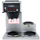 Bloomfield 8571-D3-120C Koffee King 3 Warmer Right Stepped Pourover Coffee Brewer, 120V; 1500W (Canadian Use Only)