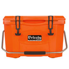 Grizzly Cooler Orange 20 Qt. Extreme Outdoor Merchandiser / Cooler