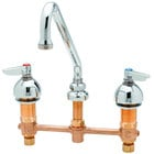 Deck Mount Faucets with Swing Nozzles