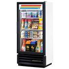 True GDM-10SSL-LD White Slim Line Swing Door Refrigerated Glass Door Merchandiser - 6.7 Cu. Ft.