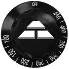 Advance Tabco SU-P-219 Replacement Black Thermostat Knob