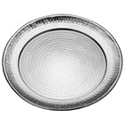 American Metalcraft HMRST1601 16 inch Round Stainless Steel Hammered Tray