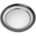 American Metalcraft HMRST1401 14 inch Round Stainless Steel Hammered Serving Tray