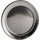 American Metalcraft HMRST1401 14 inch Round Stainless Steel Hammered Tray / Charger