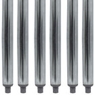 Advance Tabco TA-16-6 34 1/2 inch Galvanized Steel Legs - 6/Set
