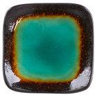 World Tableware BF-1 Hakone 3 1/2 inch Square Stoneware Dip Dish - 36/Case