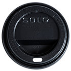 Solo TL31B2-0004 10 oz. Black Plastic Travel Lid - 1000/Case