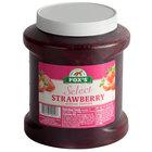 1/2 Gallon Strawberry Ice Cream Sundae Topping - 6/Case