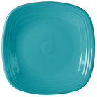 Homer Laughlin 919107 Fiesta Turquoise 10 3/4 inch Square Dinner Plate - 12 / Case