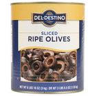 #10 Can Sliced Black Olives - 6/Case