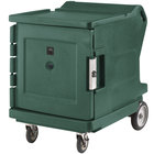 Cambro CMBHC1826LTR192 Granite Green Camtherm Electric Food Holding Cabinet with Security Package Low Profile - Hot / Cold