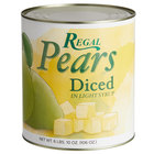 Regal #10 Can Diced Pears in Light Syrup