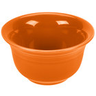 Homer Laughlin 450325 Fiesta Tangerine 6.75 oz. Bouillon - 12/Case