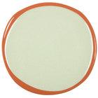 Syracuse China 922224352 Terracotta 10 3/4 inch Fern Green Plate - 12/Case