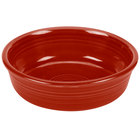 Homer Laughlin 460326 Fiesta Scarlet 14.25 oz. Small China Nappy Bowl - 12/Case