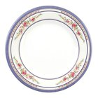 Thunder Group 1008AR Rose 7 7/8 inch Round Melamine Plate - 12/Pack