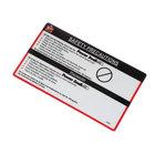 Power Soak 29595 Decal - Wendy'S Safety Precaut