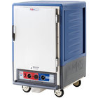 Metro C535-MFS-U-BU C5 3 Series Heated Holding and Proofing Cabinet with Solid Door - Blue