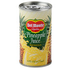 Canned Pineapple Juice 48 - 6 oz. Cans / Case