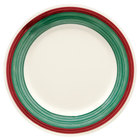 GET WP-9-PO Diamond Portofino 9 inch Wide Rim Plate - 24/Case