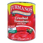 Furmano's #10 Can Crushed Tomatoes with Basil - 6/Case