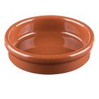 Syracuse China 922229900 Terracotta 4 oz. Cazuela Bowl - 24/Case