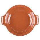 Syracuse China 922229800 Terracotta 11.25 oz. Handled Baker - 12/Case