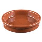 Syracuse China 922229901 Terracotta 6 oz. Cazuela Bowl - 24/Case