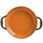 World Tableware CBP-002 Coos Bay 10 oz. Pumpkin Stoneware Round Baker - 12/Case