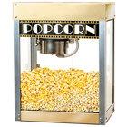 Benchmark USA 11048 Premiere 4 oz. Gold Popcorn Machine - 120V, 930W