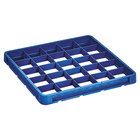 Vollrath CRB-44 Traex® 25 Compartment Full-Size Royal Blue Closed Wall Extender