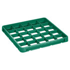 Vollrath CRB-19 Traex® 25 Compartment Full-Size Green Closed Wall Extender