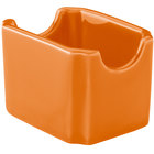 Hall China 30716325 Tangerine Colorations Sugar Packet Holder - 24/Case