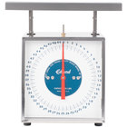 Edlund RF-50 50 lb. Extra Heavy-Duty Receiving Scale with 9 inch x 11 inch Platform
